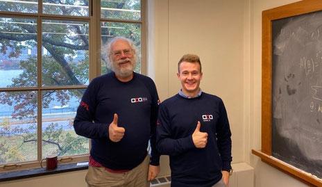 Peter Schor and Samuel Bosch