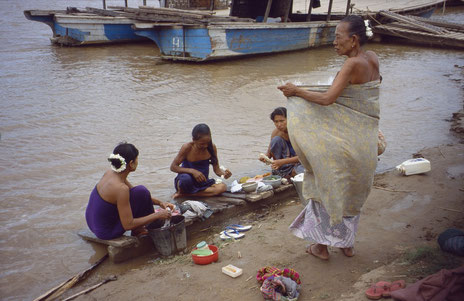 Der Fluss Irrawaddy