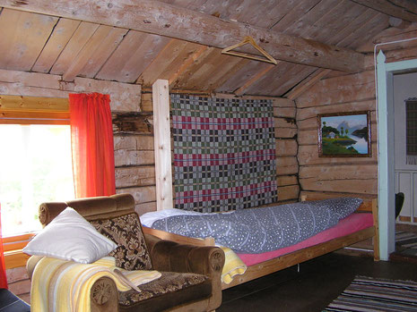 Mein rustikales Schlafzimmer.