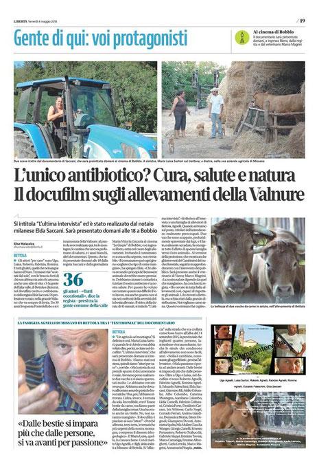 quotidiano libertà venerdì 6 maggio 2018