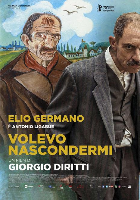 Cinema Le Grazie Bobbio VOLEVO NASCONDERMI sabato 15, domenica 16, giovedì 20, sabato 22, domenica 23, lunedì 24: ore 21:15 #VolevoNascondermi