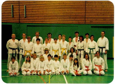 Bild 02: Karate Dojo Basbeck 1995......................................zum Vergrößern bitte auf´s Bild klicken!