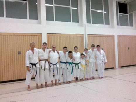 Mittwoch´s - Training im November 2015