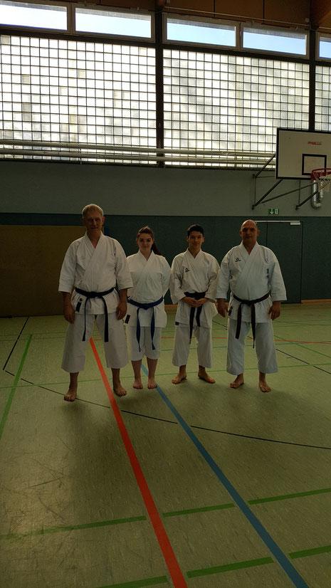 Die Lehrgang Teilnehmer aus Hemmoor