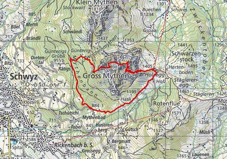 Gross Mythen - Wyss Wändli