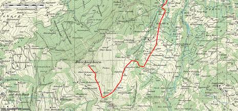 Beckenried - Buochserhorn 2D