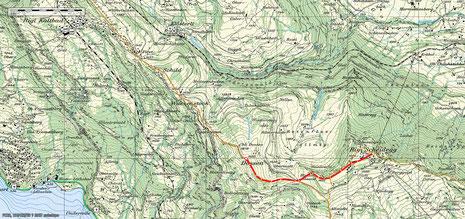 Rigi-Scheidegg - Dossen 2D