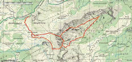 Schafnase - Giswilerstock