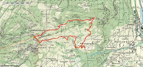Stanserhorn Südflanke 2D
