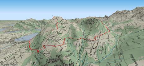 Buochserhorn - Musenalp 3D