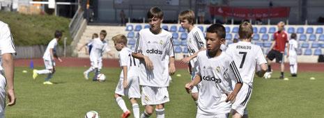 In Bottrop findet das Trainingscamp von Real Madrid erst im kommenden Jahr wieder statt.       Foto: Winfried Labus