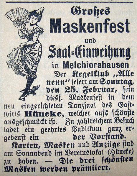 Syker zeitung 24.02.1906