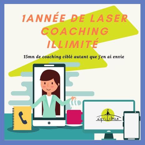 Programme de laser coaching illimité, leadership, confiance en soi, développement personnel