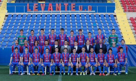 Fisioterapeuta Levante U.D. Liga Nacional Juvenil