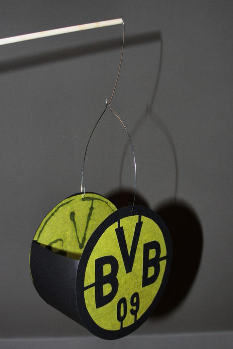 BVB-Laterne Borussia Dortmund 7 Laterne Stab Draht