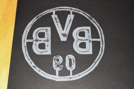 BVB-Laterne Borussia Dortmund 2 Logo seitenverkehrt aufkleben