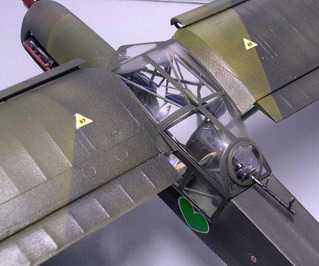Ein MG 34 gab dem Aufklärer leichten Schutz vor Angreifern von hinten.