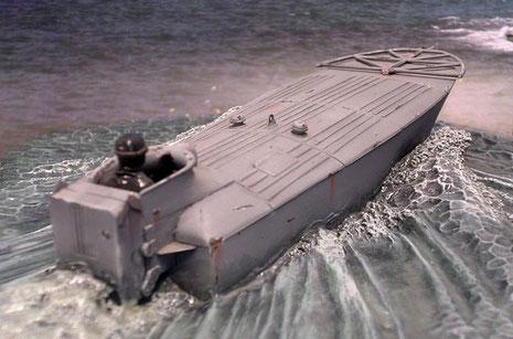 So waren die kleine Boot sehr schwer für den Gegner zu erfassen.