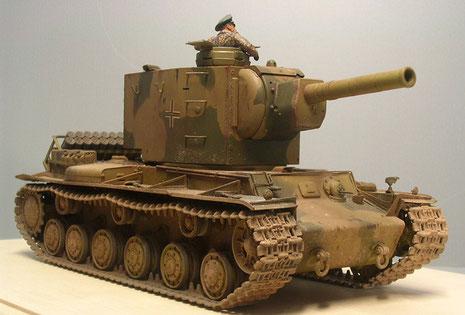 Mit ihrer wuchtigen 152mm-Kanone wären sie ideale Feuerunterstützungsfahrzeuge gewesen-den hohe Geschwindigkeit wäre bei diesem Unternehmen wohl kaum gefragt gewesen.