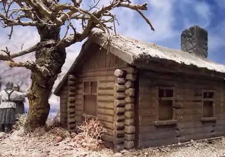"""Auch der Hinterhof und der schöne Bonsaibaum laden zu einem """"Rundgang"""" ein."""
