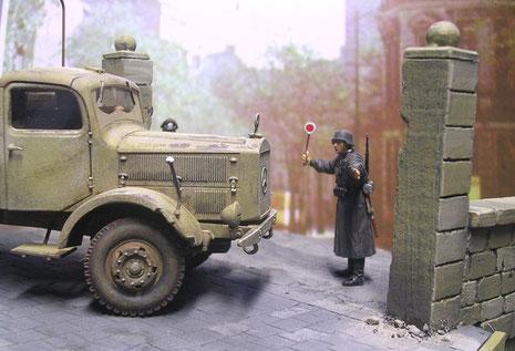 Feldjäger im Einsatz...