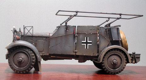 Nach mehreren Jahren im Einsatz sind die Fahrzeuge 1940 nicht mehr ganz so taufrisch...