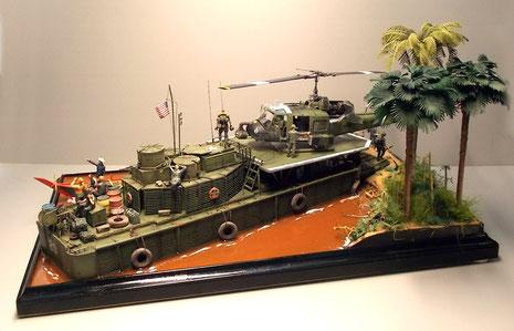Das Diorama hat von allen Seiten Blickwinkel, die es zu entdecken gilt.