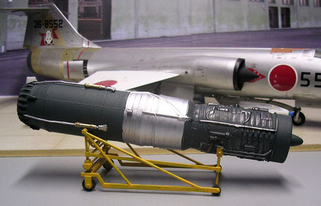 GE J-79 Triebwerk - die erste Einwellen-Hochdruck Axialturbine aus den USA