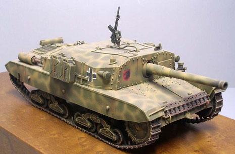 Ausgestattet wurde ds Fahzreug zudem mit einem breda-Fla-MG, das u.a. auch zur Nahbewaffnung diente.