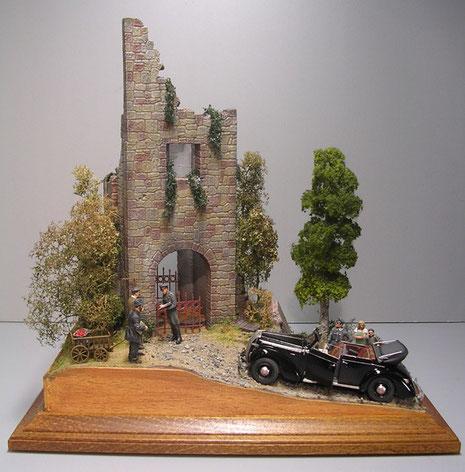 Ein ziviles militärische Diorama-wenn es sowas überhaupt gibt:-)