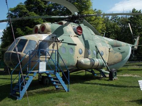 Mil Mi-8 der polnische Luftstreitkräfte.