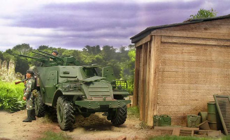 Kulisse für den BTR...