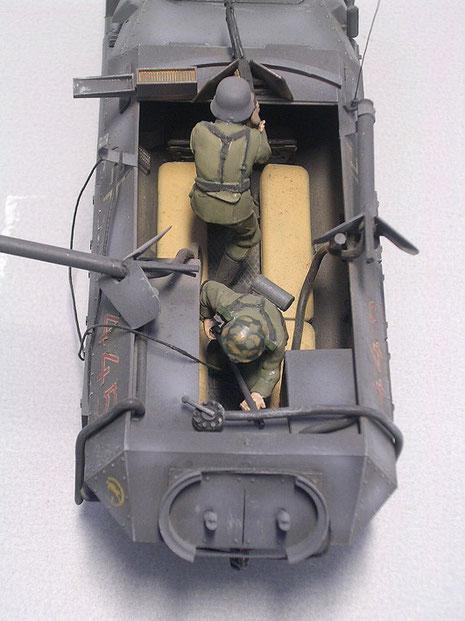 Das Modell ist ein Umbau an den altem Tamiya Sdkfz 251