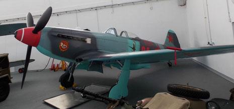 Russische Yak-9 als Aufklärungsmaschine.