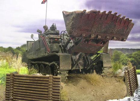 Ein wahrhaft martialisches Fahrzeug!