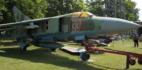 MIg-23 Foxtrott aus DDR-Beständen.