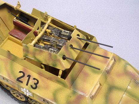 Das Modell entstand aus einem Umbausatz und dem Tamiya Basisbausatz