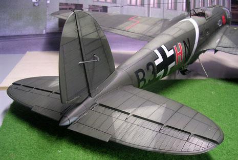 Großes Leitwerk sorgte für angenehme Flugeigenschaften.