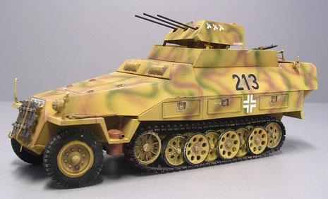 Hohe Feuerkraft liess das Fahrzeug auch bei Bodenkämpfen sehr wirkungsvoll einzusetzen.