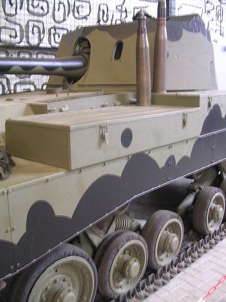 Jagdpanzer Archer mit 17-Pfünder Granaten