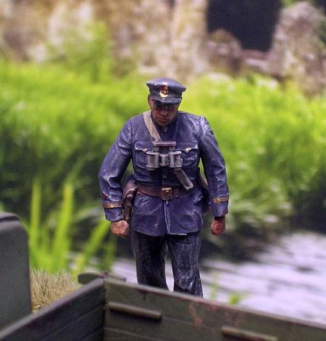 Russischer Marineoffizier