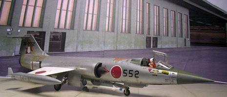 Auch japanische Maschinen können die Schönheit des Starfighters nicht leugnen.