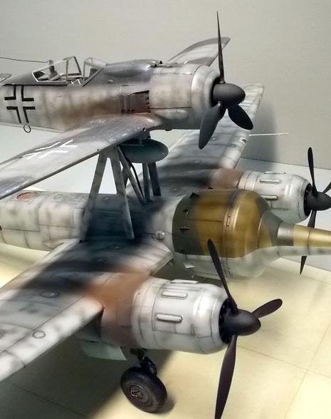 Drei Motoren für einen langen Flug und große Last. Eine skurille Ingenieursleistung!