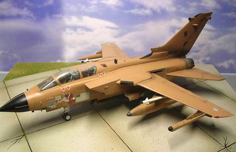 Im Einsatz für die RAF als Jagdbomber während Desert Storm
