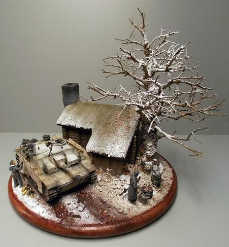 Insgesamt wieder ein rundum schönes Diorama! Wenn auch frostig kalt im August:-)