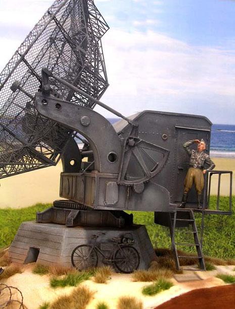 Das Gerät war von seiner Anlage her sicher seiner Zeit voraus und Vorbild für viele Radarstationen der Nachkriegszeit.