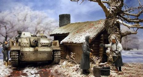 Die Ruhe vor dem Sturm wärmt die Begleitinfanterie.