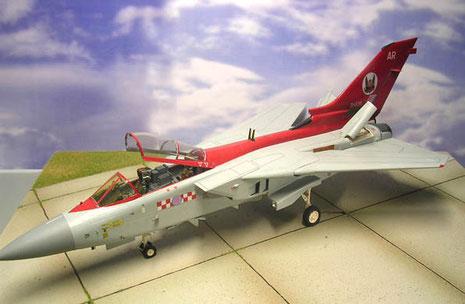 Als RAF Luftüberlegenheitsjäger stationiert in GB