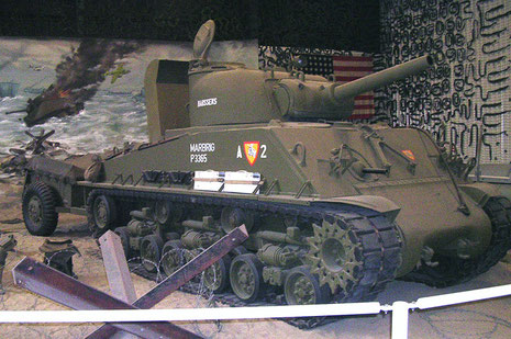Sherman M4A4 105mm Haubitze