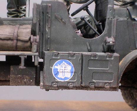 Markierungen der freifranzösischen Streitkräfte.